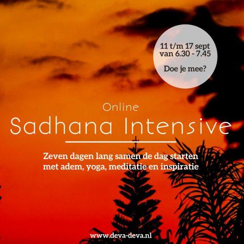sadhana september DevaDeva